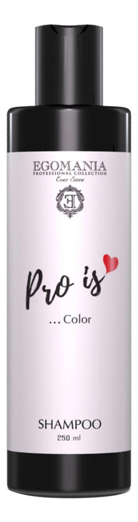 Фото - Шампунь для сохранения чистоты и сияния цвета волос Pro Is… Color Shampoo: Шампунь 250мл оттеночный шампунь для поддержания цвета color protect shampoo 250мл copper