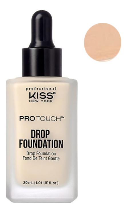 Легкая тональная основа Protouch Drop Foundation 30мл: Nude Beige between home декоративная подушка new york times beige
