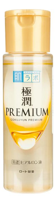 Увлажняющий лосьон для лица на основе 5 видов гиалуроновой кислоты Gokujyun Premium 170мл кислоты для лица летом