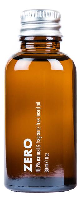 Премиум-масло для бороды Zero Fragrance Free Beard Oil 30мл