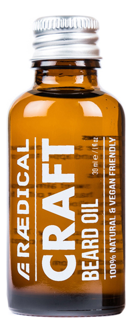 Премиум-масло для бороды Craft Beard Oil 30мл