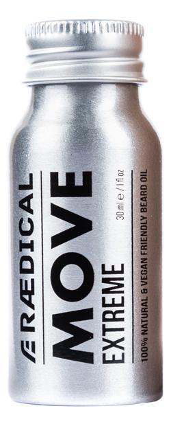 Премиум-масло для бороды Move Extreme Beard Oil 30мл масло для бороды sunrise beard oil nothing масло 30мл