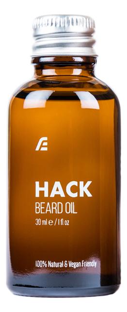 Премиум-масло для бороды Hack Beard Oil 30мл масло для бороды sunrise beard oil nothing масло 30мл