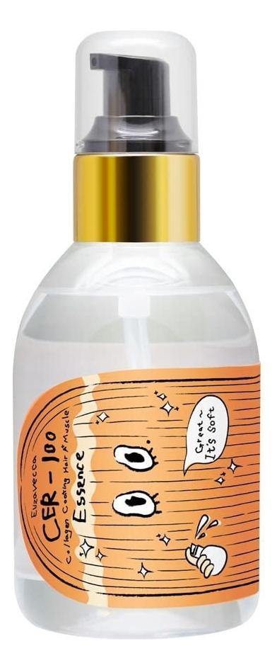 Эссенция для волос с коллагеном CER-100 Hair Muscle Essence Oil 100мл недорого