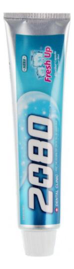 Зубная паста с лечебными травами Dental Clinic 2080 Fresh Up 120г паста зуб dental clinic 2080 лечебные травы и биосоли 120г