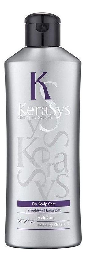 Купить Шампунь для сухой и чувствительной кожи головы Hair Clinic Scalp Care Balancing Shampoo: Шампунь 180мл, Kerasys