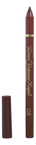 Гелевый карандаш-каял для глаз Long Lasting Gel-Kajal Eyeliner: No 03 pierre cardin карандаш для глаз eyeliner long lasting оттенок fascinating green