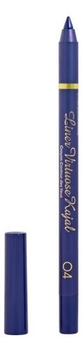 Гелевый карандаш-каял для глаз Long Lasting Gel-Kajal Eyeliner: No 04 pierre cardin карандаш для глаз eyeliner long lasting оттенок fascinating green
