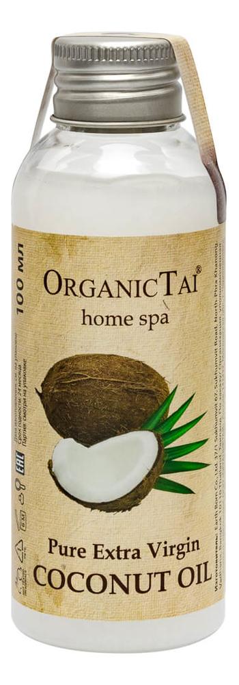Фото - Кокосовое масло холодного отжима Pure Extra Virgin Oil Coconut: Масло 100мл масло кокосовое для тела extra premium virgin coconut oil масло 500мл