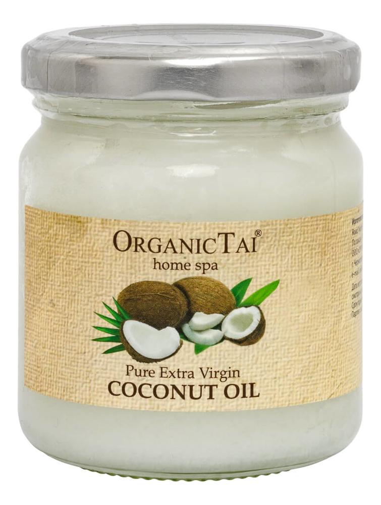 Фото - Кокосовое масло холодного отжима Pure Extra Virgin Oil Coconut: Масло 200мл масло кокосовое для тела extra premium virgin coconut oil масло 500мл