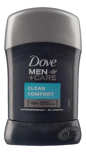 Антиперспирант-стик Экстразащита и уход Men + Care Clean Comfort 50мл