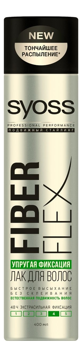 Фото - Лак для волос Упругая фиксация Fiber Flex 400мл лак д волос syoss fiber flex упругий объем 400мл