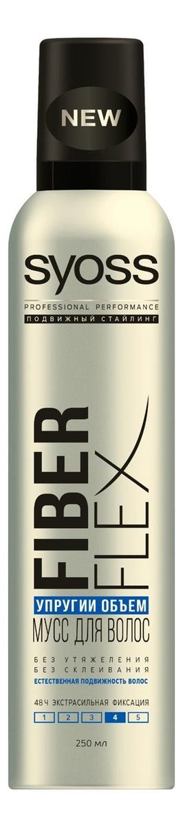 цена на Мусс для укладки волос Упругий Объем Fiber Flex 250мл