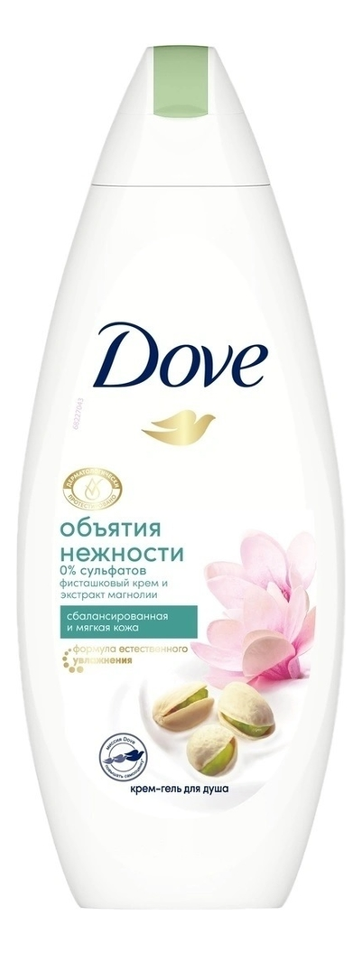 Купить Крем-гель для душа Фисташковый крем и магнолия 250мл, Dove