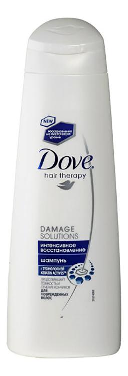 Шампунь для волос Интенсивное восстановление Hair Therapy Damage Solutions: Шампунь 250мл интенсивное восстановление keratin hair therapy
