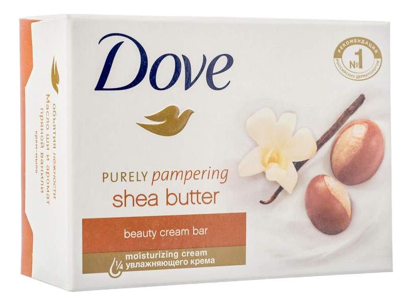 цена на Крем-мыло Масло ши и аромат пряной ванили Purely Panpering Shea Butter: Мыло 100г