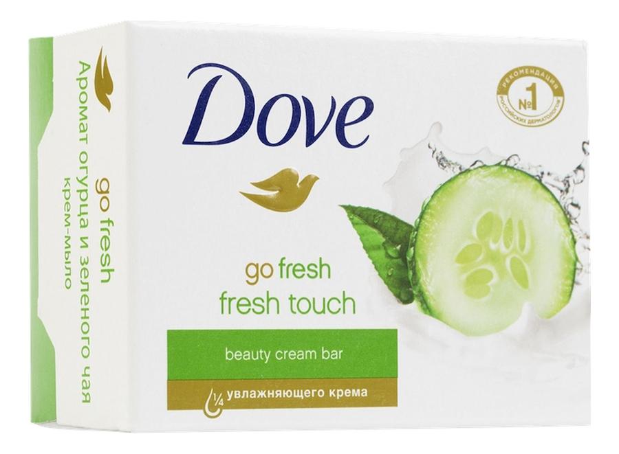 Купить Крем-мыло Прикосновение свежести Go Fresh: Мыло 100г, Dove