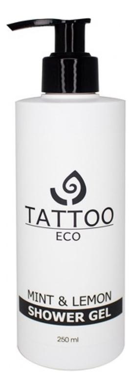 Купить Гель для душа с ароматом лимона и мяты Tattoo Eco Mint & Limon Shower Gel 250мл, Гель для душа с ароматом лимона и мяты Tattoo Eco Mint & Limon Shower Gel 250мл, Levrana