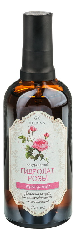 Фото - Гидролат розы 100мл kleona гидролат петрушки 100 мл