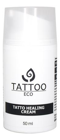 Заживляющий крем для ухода за татуировкой Tattoo Eco Healing Cream 50мл