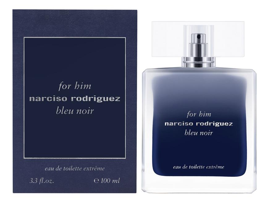 For Him Bleu Noir Eau De Toilette Extreme: туалетная вода 100мл недорого