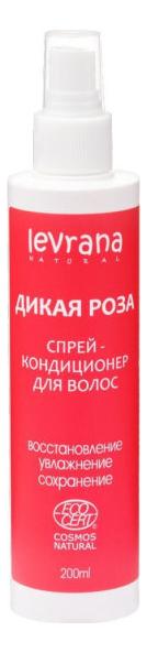 Купить Спрей-кондиционер для волос Дикая роза: Спрей-кондиционер 200мл, Levrana