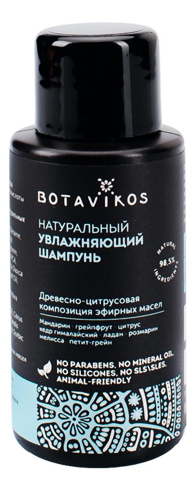 Натуральный увлажняющий шампунь для волос: Шампунь 50мл биофлор шампунь