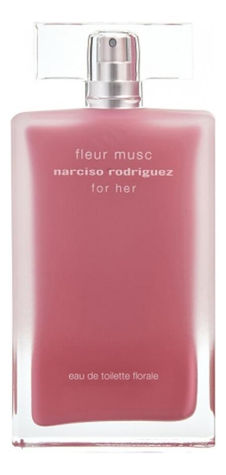 Narciso Rodriguez Fleur Musc Eau De Toilette Florale: туалетная вода 100мл тестер kenzo eau de fleur de soie silk туалетная вода тестер 50 мл