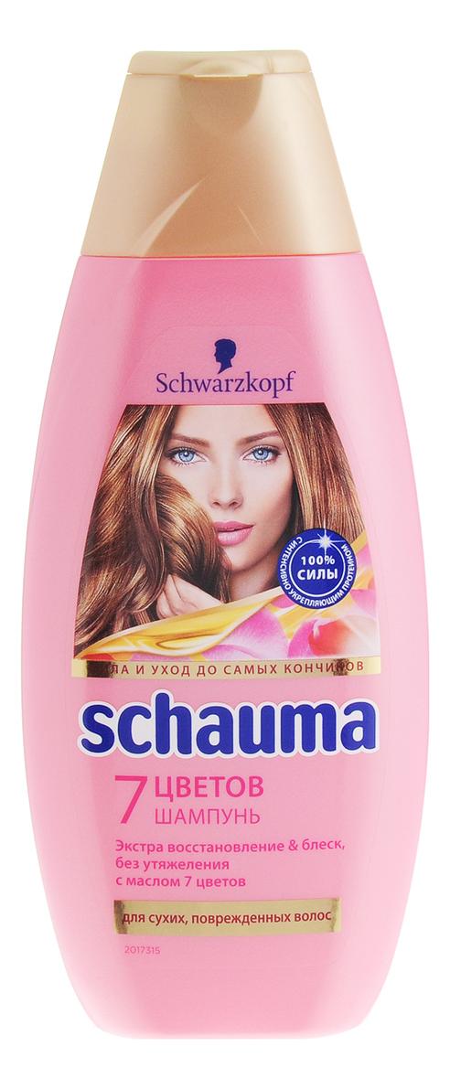 Шампунь для волос 7 цветов: Шампунь 380мл элкос шампунь