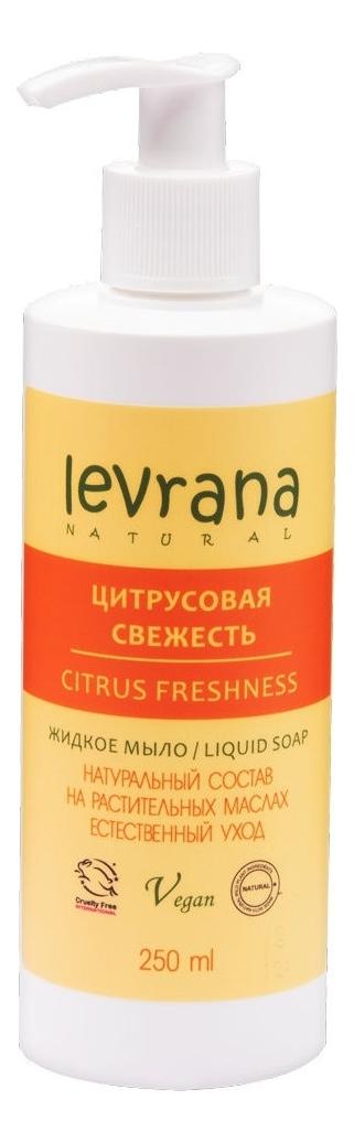 Фото - Жидкое мыло для рук Цитрусовая свежесть Liquid Soap Citrus Freshness 250мл жидкое мыло для рук с ароматом лайма и имбиря чистота и свежесть 250мл