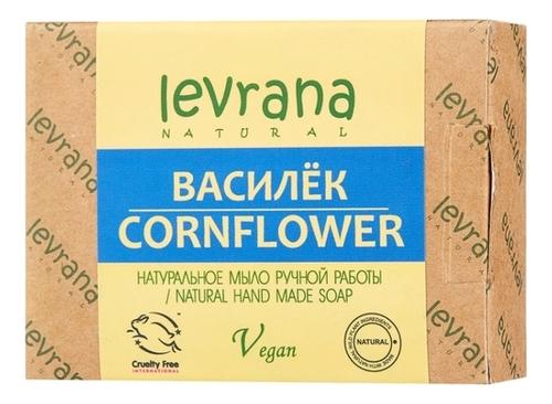 Натуральное мыло ручной работы Василек Cornflower Natural Hand Made Soap 100г