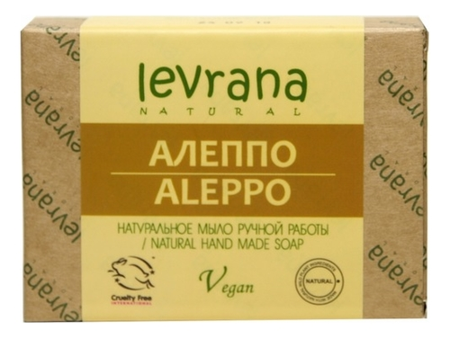 Натуральное мыло ручной работы Алеппо Allepo Natural Hand Made Soap 100г