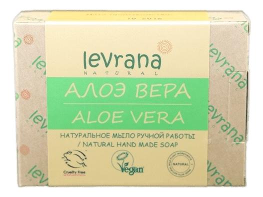 Натуральное мыло ручной работы Алоэ вера Natural Hand Made Soap Aloe Vera 100г levrana натуральное мыло ручной работы дубовая роща 100 г