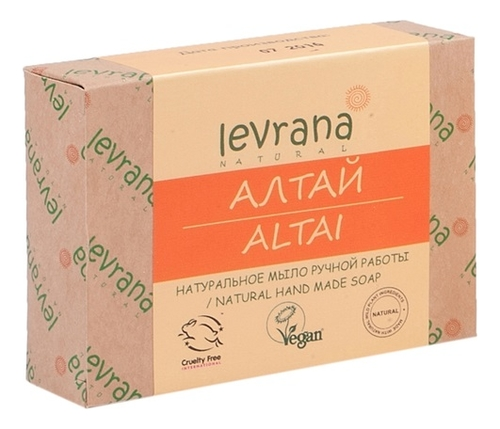 Натуральное мыло ручной работы Алтай Altai Natural Hand Made Soap 100г levrana натуральное мыло ручной работы дубовая роща 100 г
