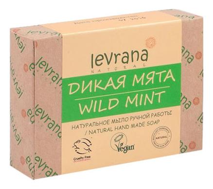 Натуральное мыло ручной работы Дикая мята Natural Hand Made Soap Wild Mint 100г