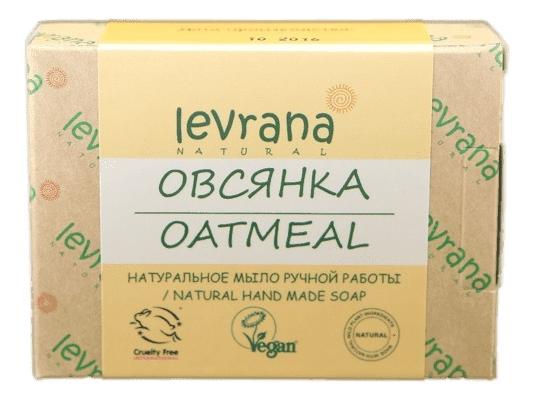 Натуральное мыло ручной работы Овсянка Natural Hand Made Soap Oatmeal 100г
