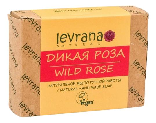 Натуральное мыло ручной работы Дикая роза Natural Hand Made Soap Wild Rose 100г