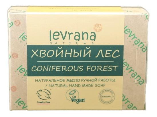Натуральное мыло ручной работы Хвойный лес Natural Hand Made Soap Coniferous Gorest 100г levrana натуральное мыло ручной работы дубовая роща 100 г