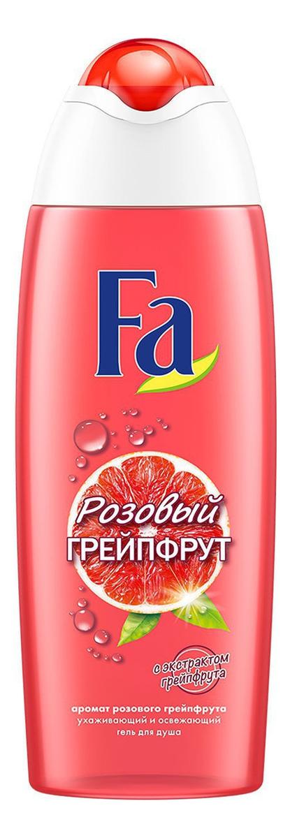 Гель для душа с ароматом розового грейпфрута Энергия и витамины: Гель 250мл цена и фото