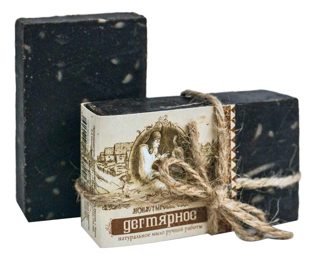 Мыло для тела и волос Дегтярное 80г kleona мыло банное с протеинами овса 120 мл