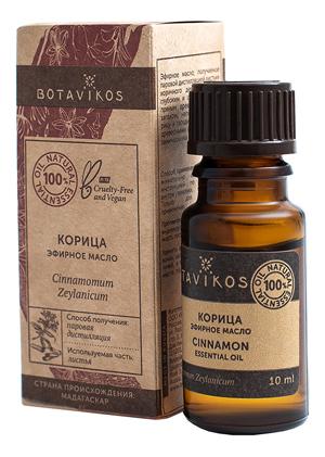 Купить Эфирное масло Корица 100% Сinnamomum Zeylanicum 10мл, Botavikos