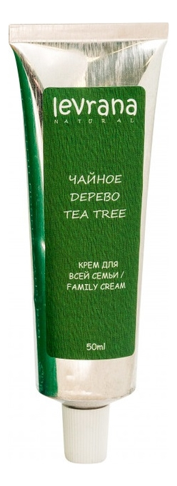 Заживляющий крем для всей семьи Чайное дерево Family Cream Tea Tree 50мл недорого