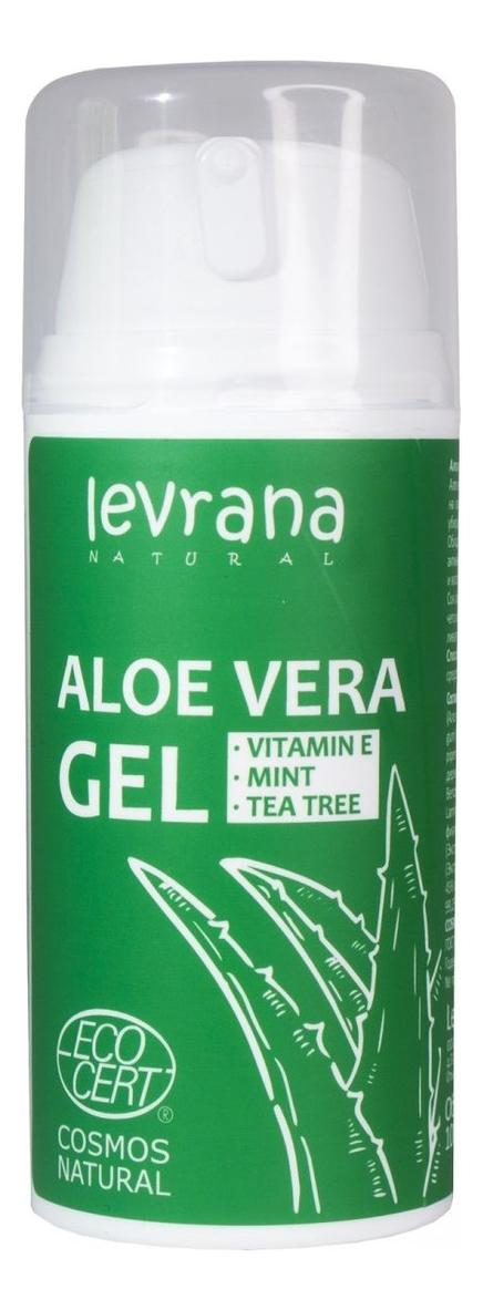 Гель для тела с экстрактом алоэ вера Gel Aloe Vera 100мл горячий воск для депиляции с экстрактом алоэ вера aloe vera 100г