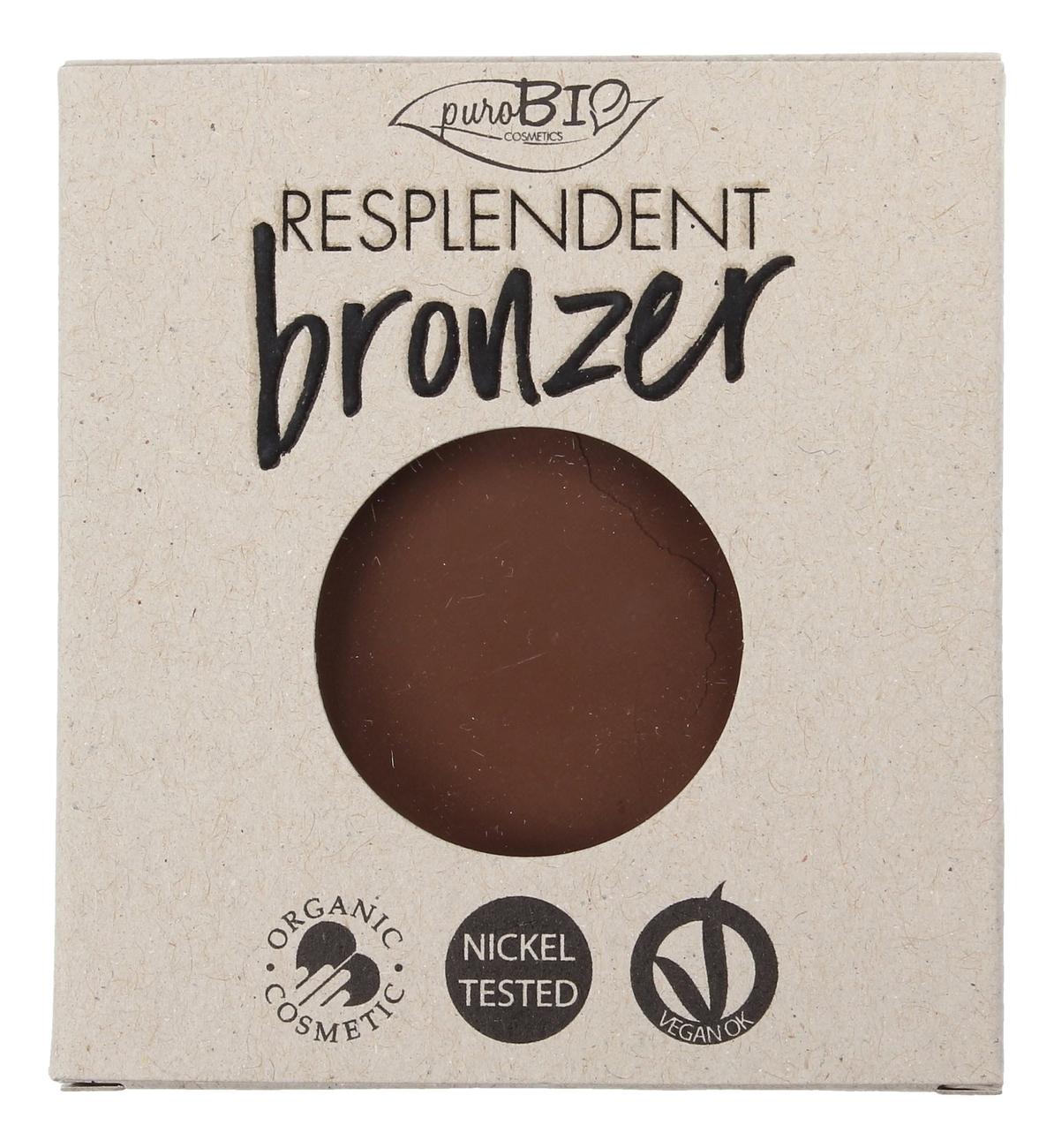 Пудра-бронзер для лица Resplendent Bronzer 9г: No 04 (запасной блок) минеральный бронзер для лица illumineral bronzer powder 4г 04 berry with gold