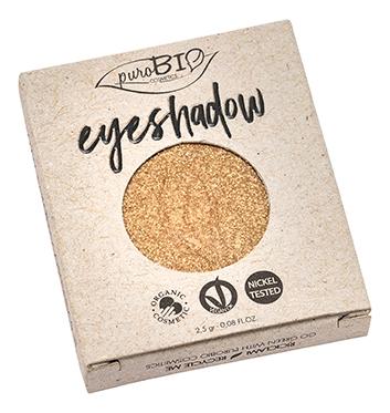 Тени для век Eyeshadow 2,5г: 24 Gold (запасной блок) тени для век eyeshadow 2 5г 20 shimmery night blue запасной блок