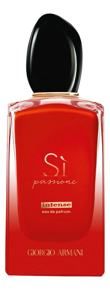 Armani Si Passione Intense: парфюмерная вода 100мл тестер giorgio armani si by giorgio armani for women 1 7 oz edp intense spray