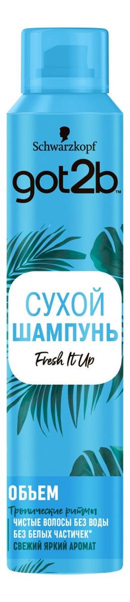 Сухой шампунь для волос Объем Fresh It Up 200мл (тропический бриз) шампунь got2b fresh it up 200мл сухой