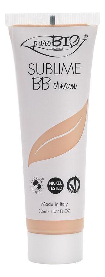 Купить BB крем для лица Cream Sublime 30мл: No 01, puroBIO