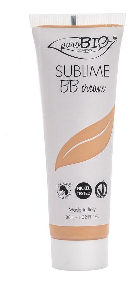 Купить BB крем для лица Cream Sublime 30мл: No 02, puroBIO