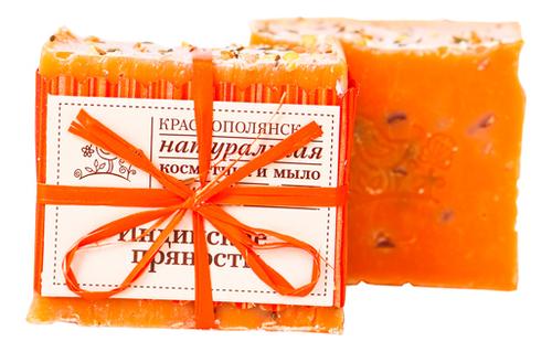 Купить Мыло ручной работы Индийские пряности 110г, Краснополянская косметика